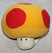 "5.5"" 1UP mushroom Nintendo 2008 Corgi super mario bros stuffed plush figure"