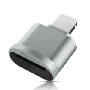 Ligthning zu Micro SD Card Reader Karten Leser Lesegerät Adapter OTG Micro USB