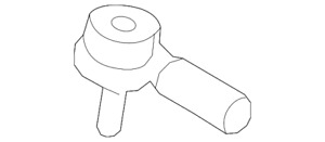 Genuine Ford Outer Tie Rod 8L8Z-3A130-A