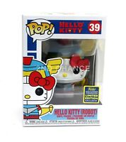 New Funko Pop Sanrio Hello Kitty Robot Kaiju SDCC Shared Exclusive Figure