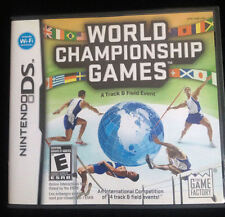 World Championship Games: A Track & Field Event  (Nintendo DS, 2009)