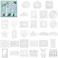 Creative Frame Metal Cutting Die Stencil DIY Scrapbooking Paper Card Decor Craft
