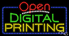 "New ""Open Digital Printing"" 32x17 Solid/Animated Led Sign W/Custom Options 25494"
