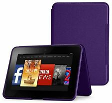 Amazon Kindle Fire HD Leather Case - Royal Purple