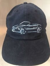Volvo Cars Memphis Embroidered Logo Dark Gray Cap Hat Adjustable VGUC