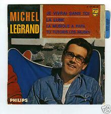 45 RPM EP MICHEL LEGRAND JE VIVRAI SANS TOI (1968)