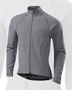 Specialized Men's Deflect Hybrid Cycling Jacket True Grey - Medium