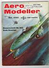 AEROMODELLER  Magazine July 1969 Messerschmitt Me 262  with 3-Views