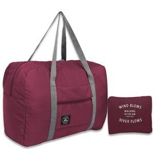 Foldable Fashion Travel Weekend Bag Large Capacity Waterproof Durable Fabric