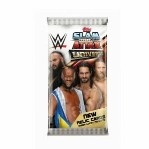 Topps WWE Slam Attax Universe - Sealed Pack (7 Cards)