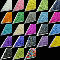 Wholesale 5000Pcs Lot Opaque Glass Seed Beads Jewelry Finding DIY Craft 2MM Sy