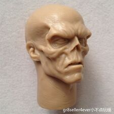 "1:6th Red Skull Smith Hugo Vivian Unpainted head Sculpt F 12"" Hot Toy Figure"