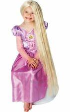 Kids Disney Rapunzel Wig Girls Book Week Fancy Dress Costume Party Accessory