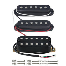 NEW 3PCS Black Strat Electric Guitar Pickups HSS Single Coil/Humbucker Pickups