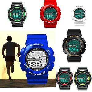 Kids Children Boys Girls Colour Digital Sports LED Wrist Watch  Watches UK 2020