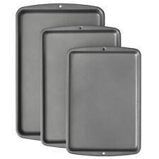 New Heavyweight Steel Wilton Bake It Better Non-Stick Baking Pan Set, 3-Piece