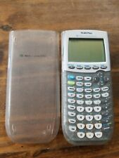 TI-84 Plus Graphing Calculator Clear Glitter Transparent Sparkle Cover Works