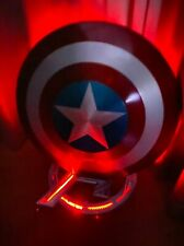 Captain America Shield Base LED Light Up ABS Display Stand Model Accessory Props