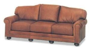 NEW SOFA SOFA SOUTHWESTERN SOUTHWESTERN WOOD LEATHER WOOD LEATHER REMOVAB
