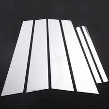 6pcs Alloy Window Pillar & Rear Post Trim Kit Cover Trim for BMW 5 Serie 2018