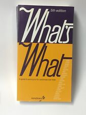 What's What - A Guide To Acronyms For Cardiovascular Trials • 5th Ed. Paperback