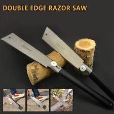 "9-1/2""Double Edge Razor Saw Japanese Ryoba Style Pull Saw 14 / 9 Teeth"