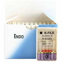 Size! 10 Packs Dental K-FILE 31mm Stainless Steel Endo Root Canal file Hand Use