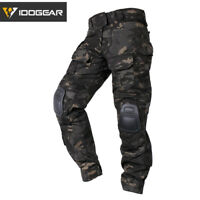 IDOGEAR G3 Combat Pants with Knee Pads Assault Pants Military Trousers Military
