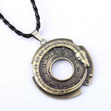 Assassin's Creed Connor Kenway Amulet Halskette Anhänger Key Chain Ring Fashion