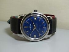 Superb VINTAGE FORTIS AUTOMATIC DATE MENS WATCH E756 OLD USED ANTIQUE