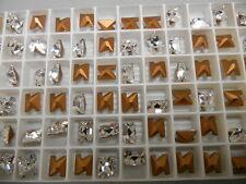 36 swarovski crystal letter N in 8mm crystal/foiled #4889