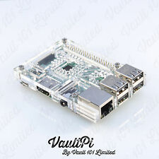 Clear Acrylic Case for Raspberry Pi 3 Model B VaultPi