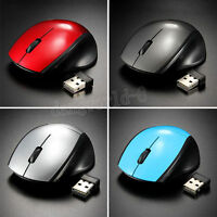 2.4GHz Optical Mouse Mice Wireless Cordless USB Receiver For Laptop Computer US