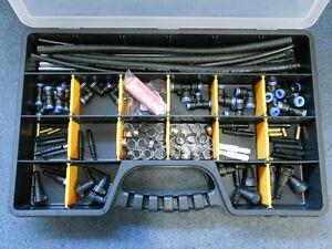 Reparatursatz Kraftstoffleitung 117-teilig Kunstoffleitung