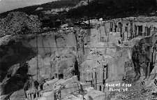 Real Photo Rock of Ages in Barre Vermont  Antique Postcard L1123