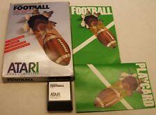 RealSports Football by Atari the Big Box Cartridge Version for Atari 400/800