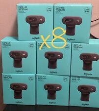Webcam Bundle (8) Logitech C270 HD 720p 30fps | Cams | Ships Same Day | Sealed