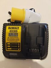 DeWalt DCB115 10.8v-12v-18v-20vXR Slim & Fast Battery Charger 110v in World 2017
