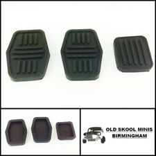 CLASSIC MINI PEDAL RUBBER 3 PIECE SET LATER CARS ROVER AUSTIN 998 1275 >96 5N2