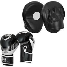 Roar 16oz Boxing Gloves Sparring Muay Thai Training Mitt With Gel Focus Pad Hook
