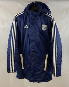 West Bromwich Albion Bench Football Coat 2011/12 Adults Medium Adidas C18