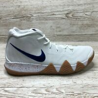 NIKE KYRIE 4 WHITE UNCLE DRAW BASKETBALL size UK 14 EUR 49.5 US 15 943806 100