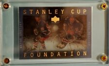 Wayne Gretzky & Mark Messier 1996-97 Upper Deck Stanley Cup Foundation