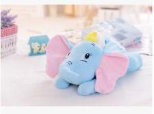cute Dumbo elephant lying  plush tissue box holder cover Y187 new