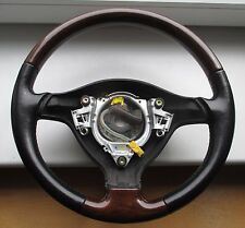 VW PASSAT 3B 3BG GOLF IV BORA WURZEL HOLZLENKRAD LENKRAD steering wheel