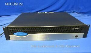 Crown CTs-1200 Two Channel Power Amplifier w/ USP4CN Card