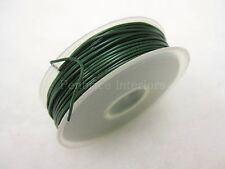 30 mt roll of Green garden plastic coated wire DIY Florist flower plant tie ties