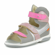 Memo IRIS Girls' Corrective Orthopedic Ankle Support Sandals, Little/Big Kid