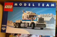 Lego 5580 Model Team Higway Rig Complete With Box Very Rare!!!