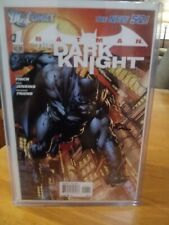 new 52 batman the dark night #1 signed by david finch
